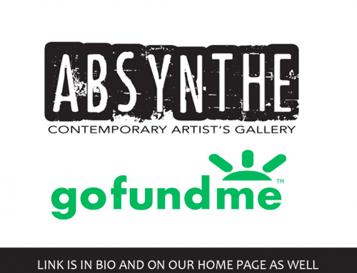 Absynthe Gallery Go Fund Me